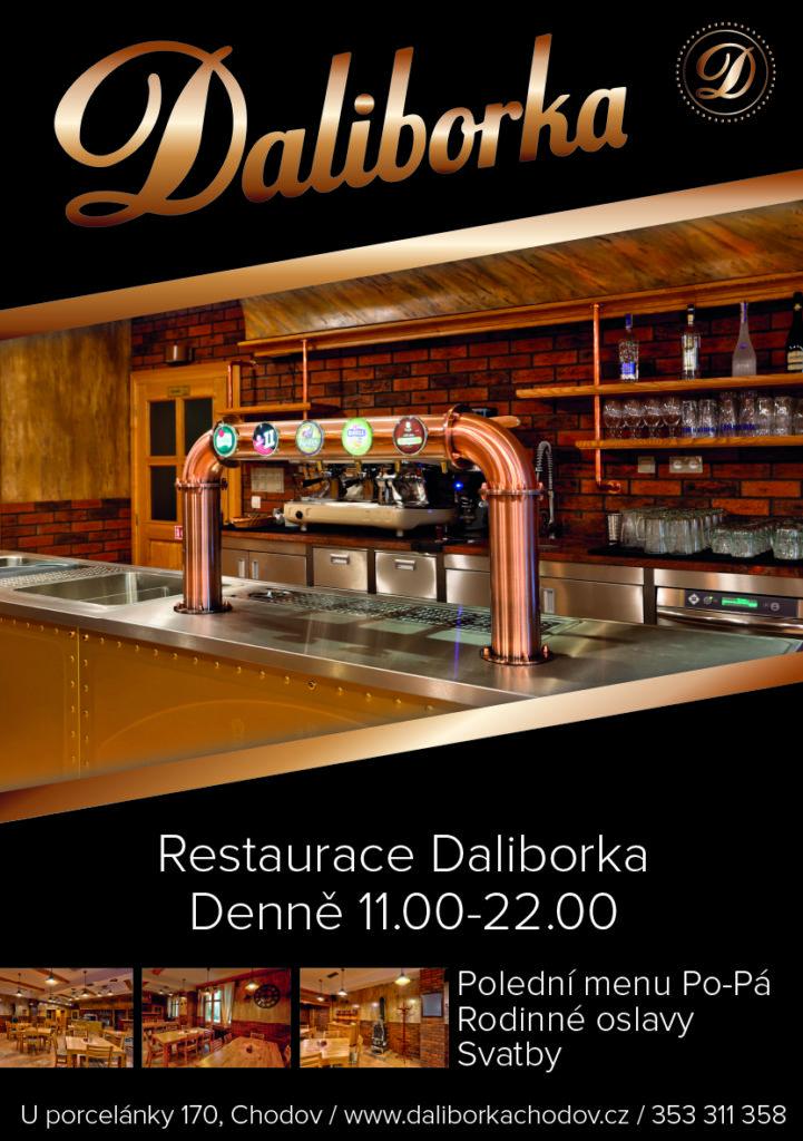 Restaurace DALIBORKA Chodov U porcelánky 170 353311358
